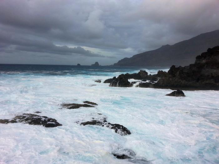Il mare maestoso di Charco Los Argos (La Frontera)