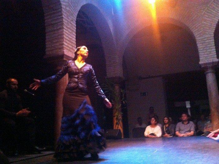 Spettacolo di Flamendo al Museo del Baile Flamenco di Siviglia