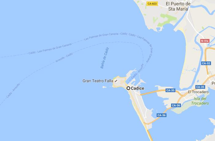 Cadice - Las Palmas o Arrecife